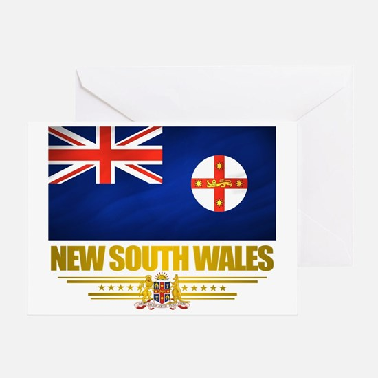 New South Wales (Flag 10) 2 Greeting Card