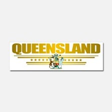 Queensland (Flag 10) pocket 2 Car Magnet 10 x 3