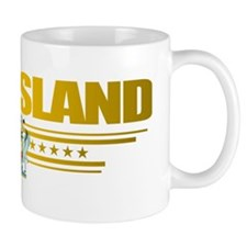 Queensland (Flag 10) pocket 2 Small Mug
