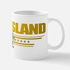 Queensland (Flag 10) pocket 2 Small Small Mug