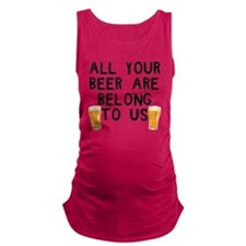 allyourbeerarebelongtous Maternity Tank Top