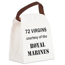 Art_72 virgins_royal marines Canvas Lunch Bag
