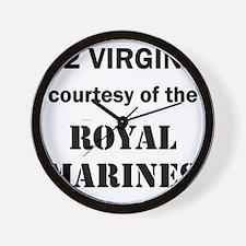 Art_72 virgins_royal marines Wall Clock