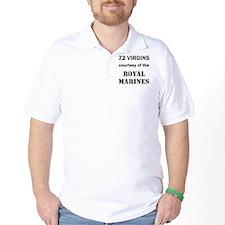Art_72 virgins_royal marines T-Shirt