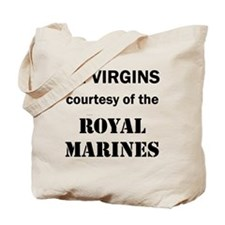 Art_72 virgins_royal marines Tote Bag