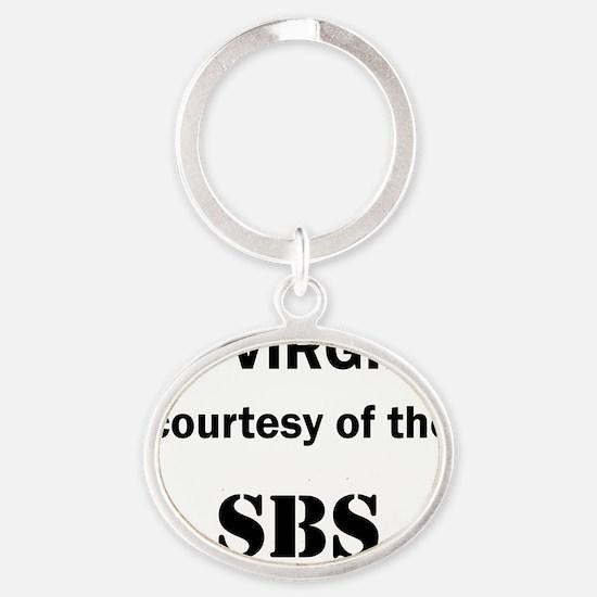 Art_72 virgins_SBS Oval Keychain