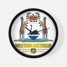 Western Australia COA 2 Wall Clock
