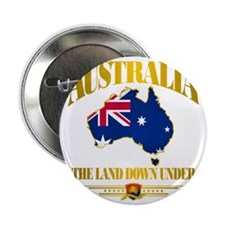 "Land Down Under 2.25"" Button"
