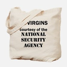 Art_72 virgins_national security agency Tote Bag