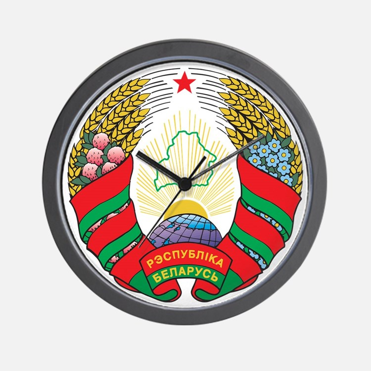 g141_belarus1 Wall Clock