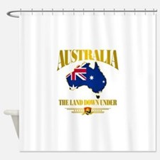 Land Down Under Shower Curtain