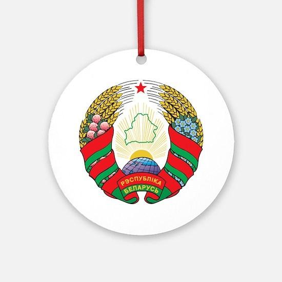 g141_belarus1 Round Ornament