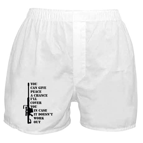 You can give peace Boxer Shorts
