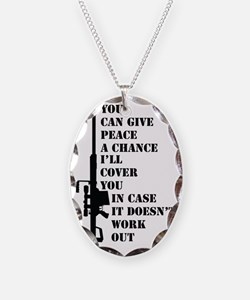 You can give peace Necklace