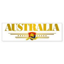 Australia Gold 2 pocket Bumper Sticker