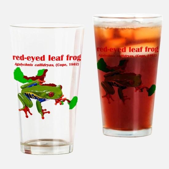Agalychnis callidryas t-shirt Drinking Glass