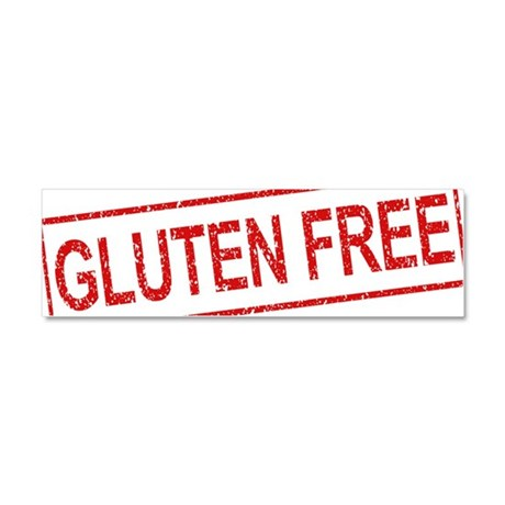ss-gluten-free Car Magnet 10 x 3