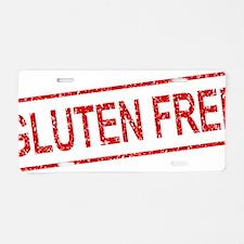 ss-gluten-free Aluminum License Plate