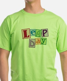 leap day baby_dark T-Shirt