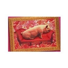 cp-ww-laptop-ladylove Rectangle Magnet