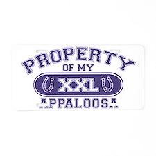 appaloosaproperty Aluminum License Plate