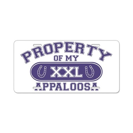 appaloosaproperty Aluminum License Plate