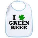I Shamrock Green Beer Bib