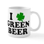 I Shamrock Green Beer Mug