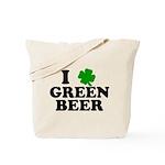 I Shamrock Green Beer Tote Bag