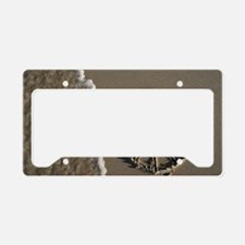 peace sign License Plate Holder