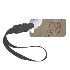 i love you 2011 Small Luggage Tag