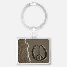 peace sign Landscape Keychain