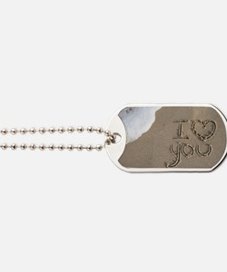 i love you 2011 Dog Tags