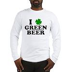 I Shamrock Green Beer Long Sleeve T-Shirt