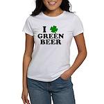 I Shamrock Green Beer Women's T-Shirt