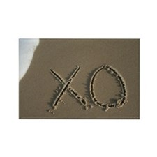 xo Rectangle Magnet