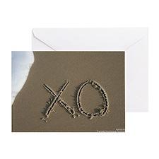 xo Greeting Card