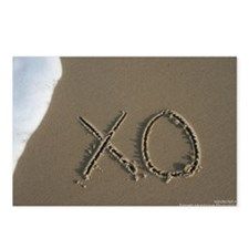 xo Postcards (Package of 8)