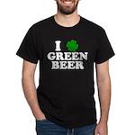 I Shamrock Green Beer Dark T-Shirt
