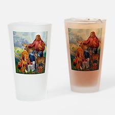 JesusAnimaltee2 Drinking Glass
