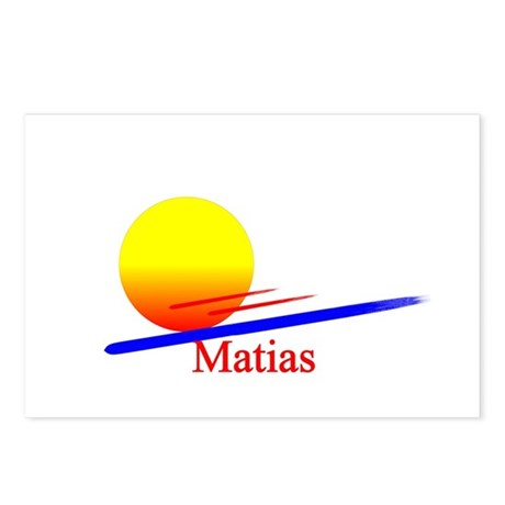 Matias Postcards (Package of 8)
