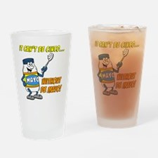 Funny Cinco De Mayo Shirt Drinking Glass