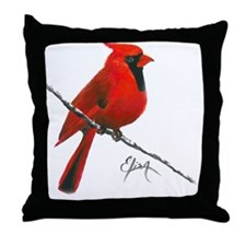 cardinal (2) Throw Pillow