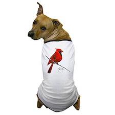 cardinal (2) Dog T-Shirt
