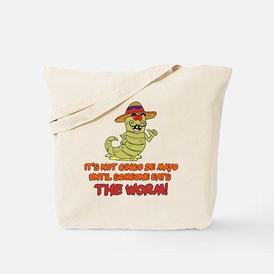 Cinco De Mayo Worm Tote Bag
