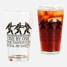 onebyonethesasquatch2 Drinking Glass