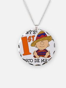 Babys First Cinco De Mayo Necklace
