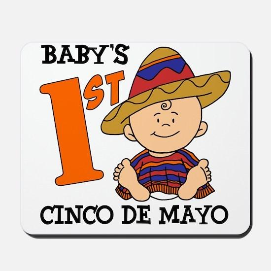 Babys First Cinco De Mayo Mousepad