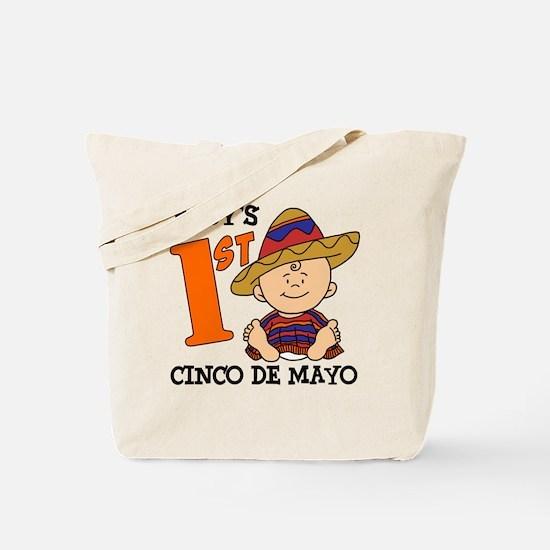 Babys First Cinco De Mayo Tote Bag