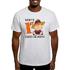 Babys First Cinco De Mayo T-Shirt